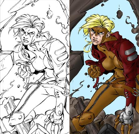 Monsters & Superheroes Art Coloring