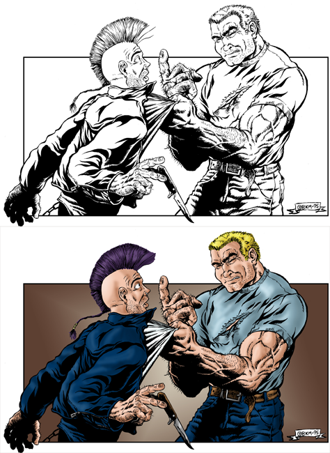 Martial Arts/Modern-Era Art Coloring