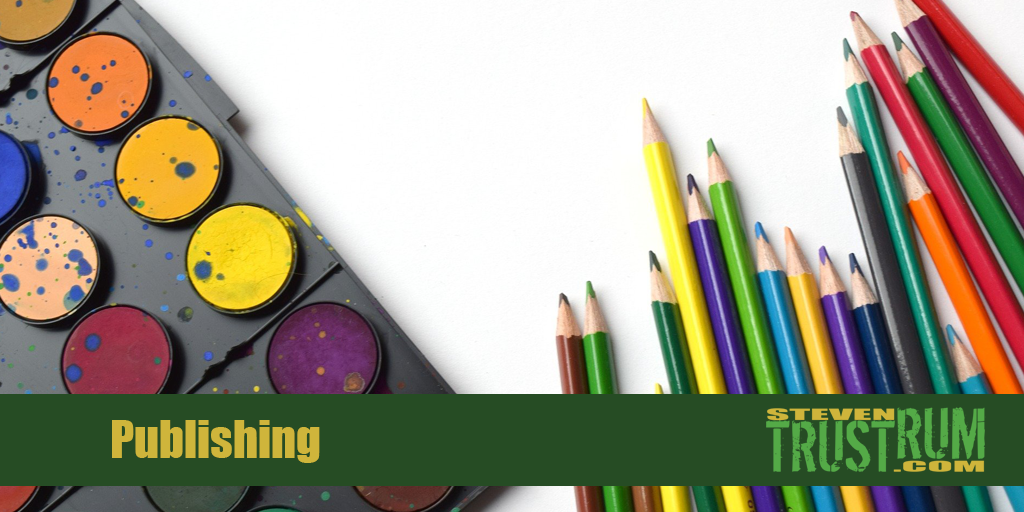 Stock Art Trustrum Blog Banner, Publishing category