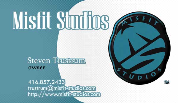 Business Card -- Misfit Studios