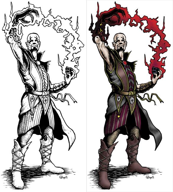 Fantasy Art Coloring